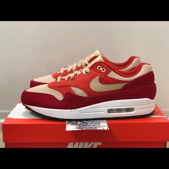 air max 1 premium red curry